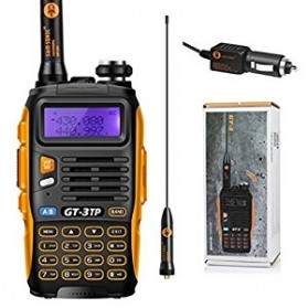 BAOFENG GT-3TP Mark III 8W Handy Talky, Dual Band UHF/VHF Tri-Power 1/4/8W